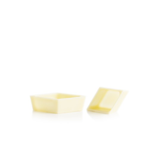 Petit four cup diamond white