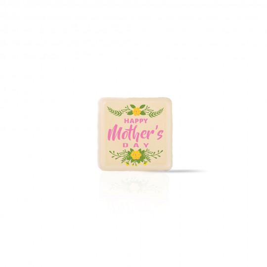 D19 Mom floral white