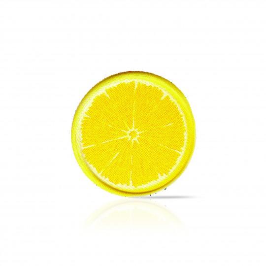 D9 Lemon slice white