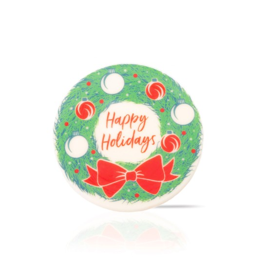 Wreath cookie topper