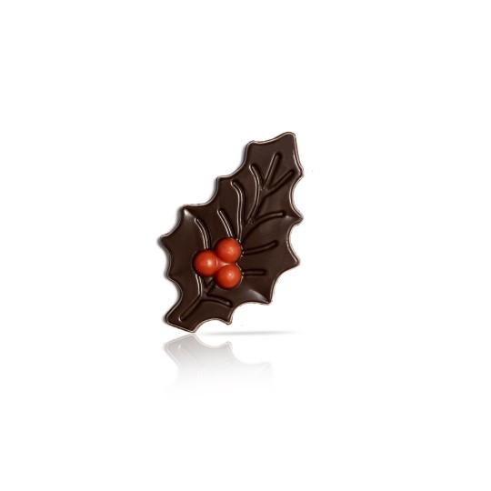 Holly leaf dark with berry