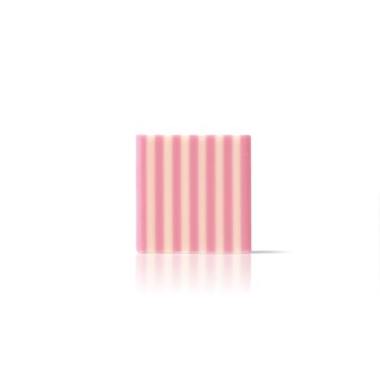 Domino white/pink