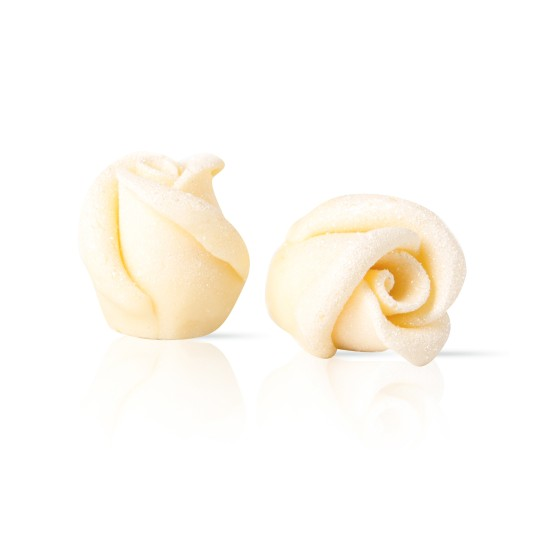 Chocolate rose mini white