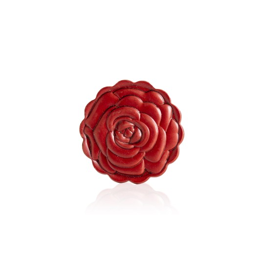 Rose 2D lid glossy red