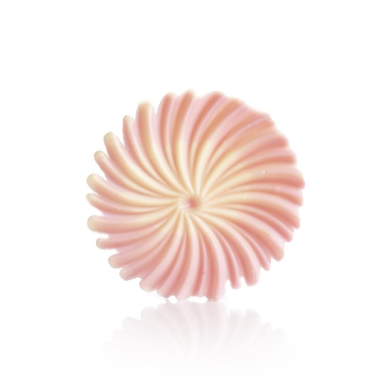 Rosette Pink & White