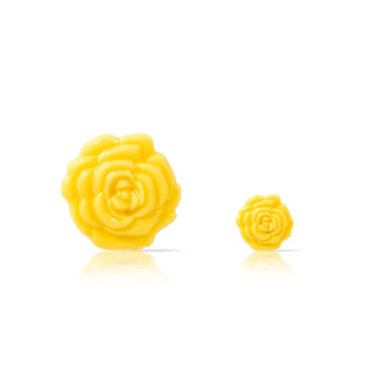 Rose yellow - 72 large and 56 small