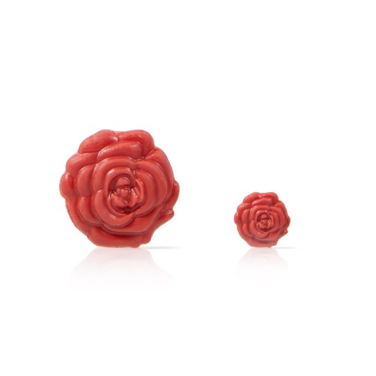 Rose 2D red - 72 large 56 small