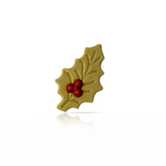 Holly leaf green with berry