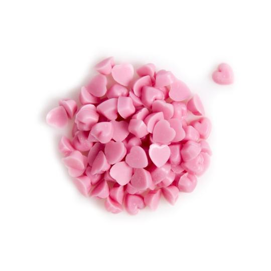 Sprinkle heart mini - pink