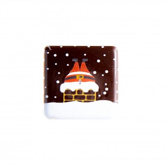 D27 Santa upside down