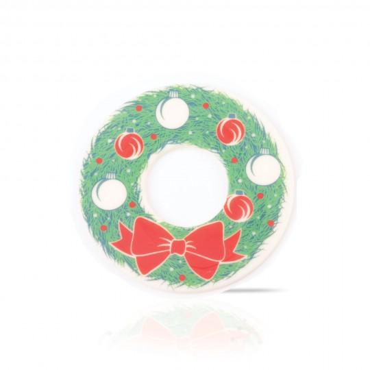 Wreath donut topper